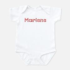 Marlene - Candy Cane Infant Bodysuit