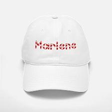Marlene - Candy Cane Baseball Baseball Cap