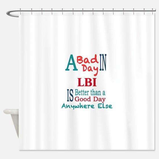 LBI Shower Curtain