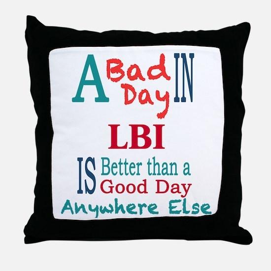 LBI Throw Pillow