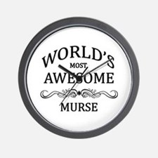 World's Most Awesome Murse Wall Clock