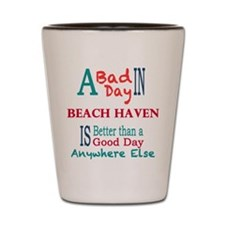 Beach Haven Shot Glass