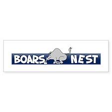 Boars Nest Bumper Bumper Sticker