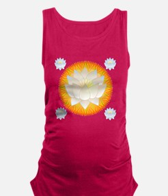 Lotus Blossom Maternity Tank Top