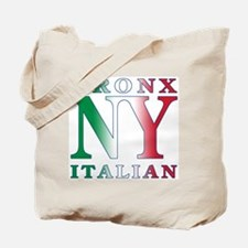 Bronx New York Italian Tote Bag