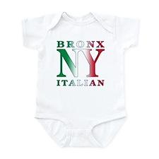Bronx New York Italian Infant Bodysuit