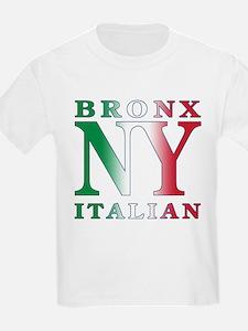 Bronx New York Italian Kids T-Shirt