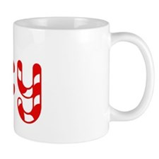 Lucy - Candy Cane Mug