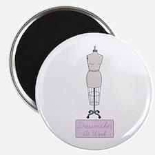 Dressmaker At Work Magnet