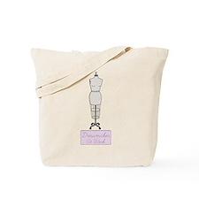 Dressmaker At Work Tote Bag