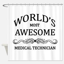 World's Most Awesome Medical Technician Shower Cur