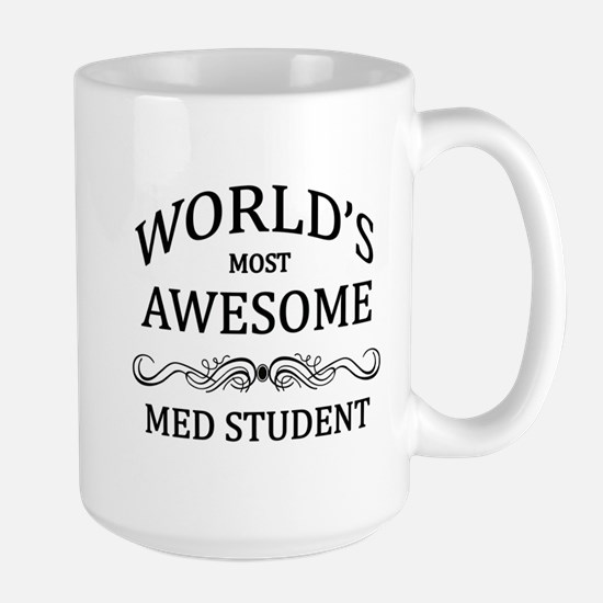 World's Most Awesome Med Student Large Mug
