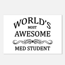 World's Most Awesome Med Student Postcards (Packag