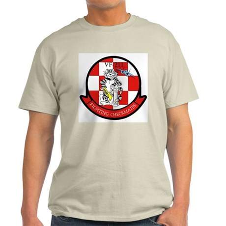 VF-211 Checkmates Ash Grey T-Shirt