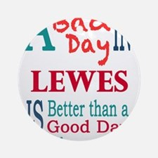 Lewes Ornament (Round)