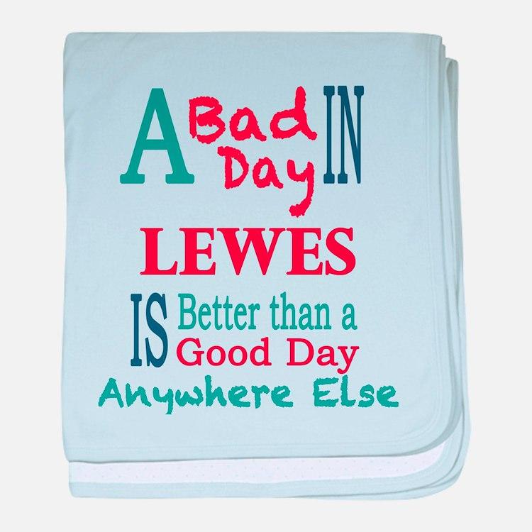 Lewes baby blanket
