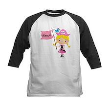 Pink Pirate Girl Tee