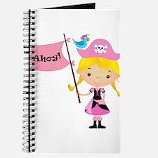 Pink Pirate Girl Journal