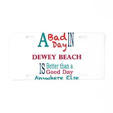 Dewey Beach Aluminum License Plate