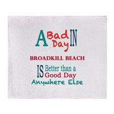 Broadkill Beach Throw Blanket