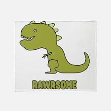 Rawrsome Throw Blanket