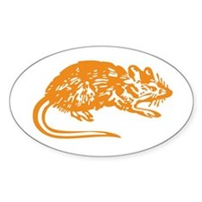 RAT Oval Decal