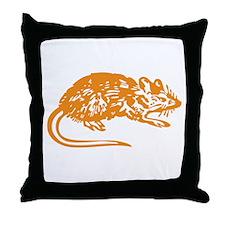 RAT Throw Pillow