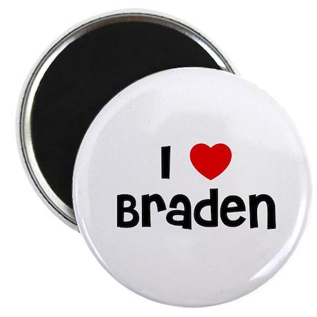 """I * Braden 2.25"""" Magnet (10 pack)"""