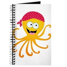Happy Pirate Octopus Journal