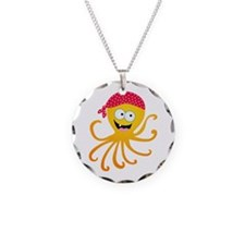 Happy Pirate Octopus Necklace