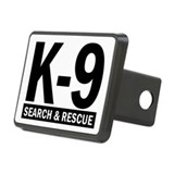 K9 search and rescue Hitch Covers