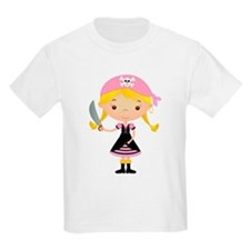 Pirate Girl w/ Sword T-Shirt