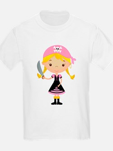 Pirate Girl w/ Sword T-Shirt