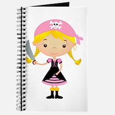 Pirate Girl w/ Sword Journal