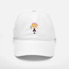 Pirate Girl w/ Sword Baseball Baseball Cap
