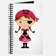 Pirate Girl in Red Journal