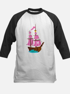 Pink Pirate Ship Tee