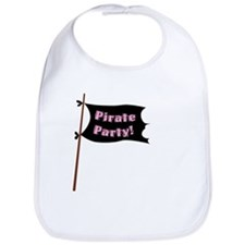 Pirate Party Flag Bib