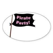 Pirate Party Flag Decal
