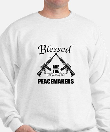 Blessed Are The Peacemakers AR's Sweatshirt