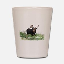 Maine Moose Shot Glass