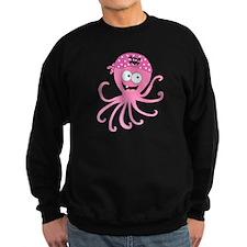 Pink Pirate Octopus Sweatshirt