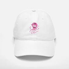 Pink Pirate Octopus Baseball Baseball Cap