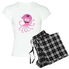 Pink Pirate Octopus Pajamas