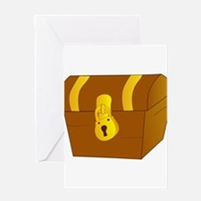 Treasure Chest Greeting Card