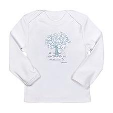 Be the Change Tree Long Sleeve T-Shirt