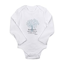 Be the Change Tree Body Suit