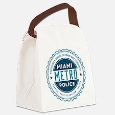 Miami Metro Police Canvas Lunch Bag