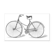 Vintage Bicycle Rectangle Car Magnet