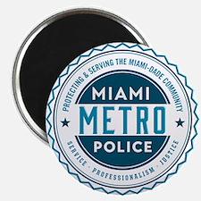 Miami Metro Police Magnet